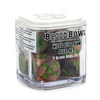 Blood Bowl: Wood Elf Team Dice