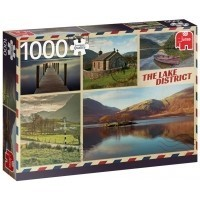 Puzzle 1000 el. Pozdrowienia z Lake District / Kumbria