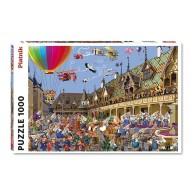 Puzzle 1000 el. Brueghel, Aukcja Win