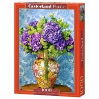 Puzzle 1000 el. Martwa natura - bukiet hortencji Martwa Natura Castorland