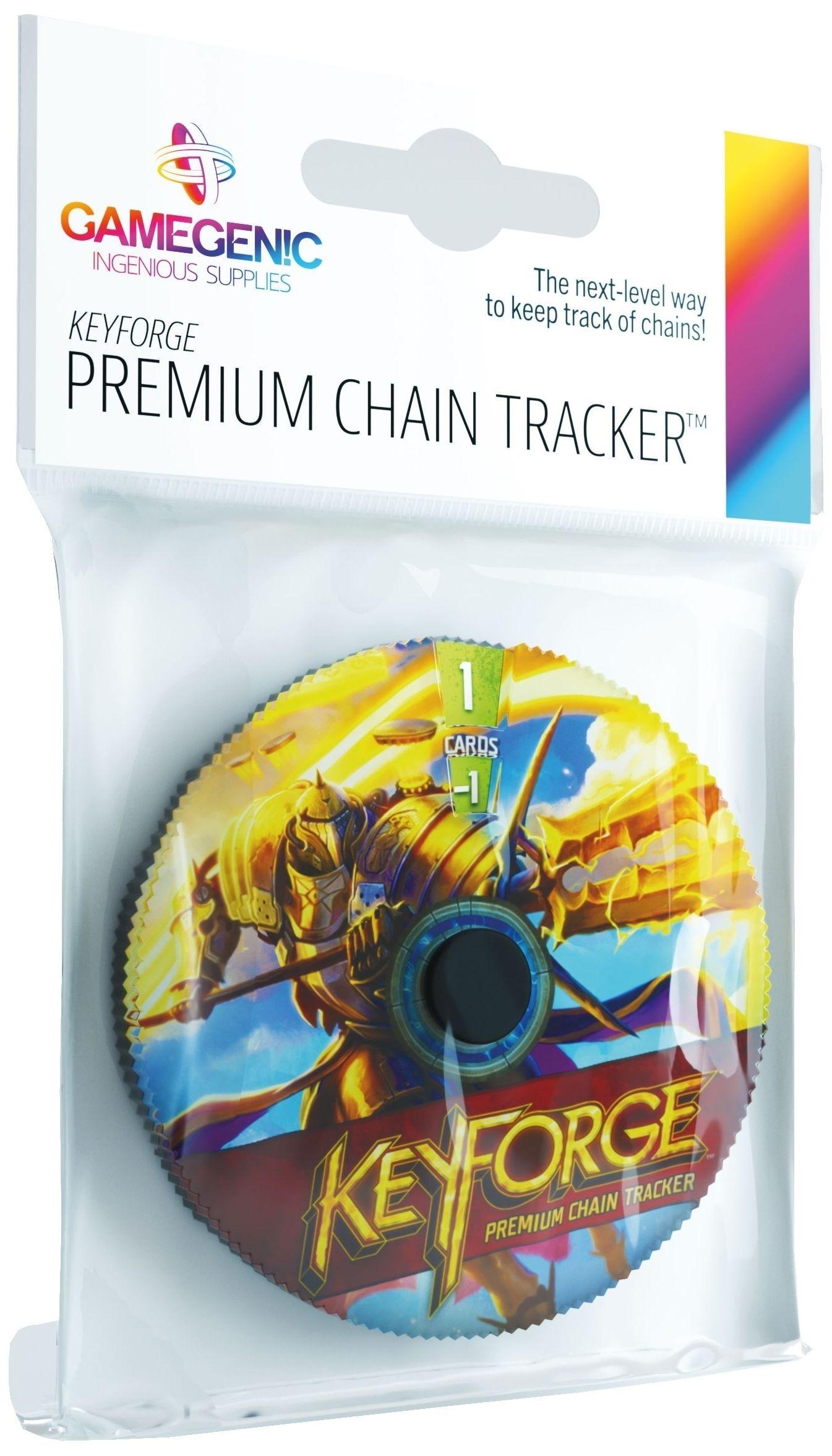 Gamegenic: KeyForge - Premium Sanctum Chain Tracker