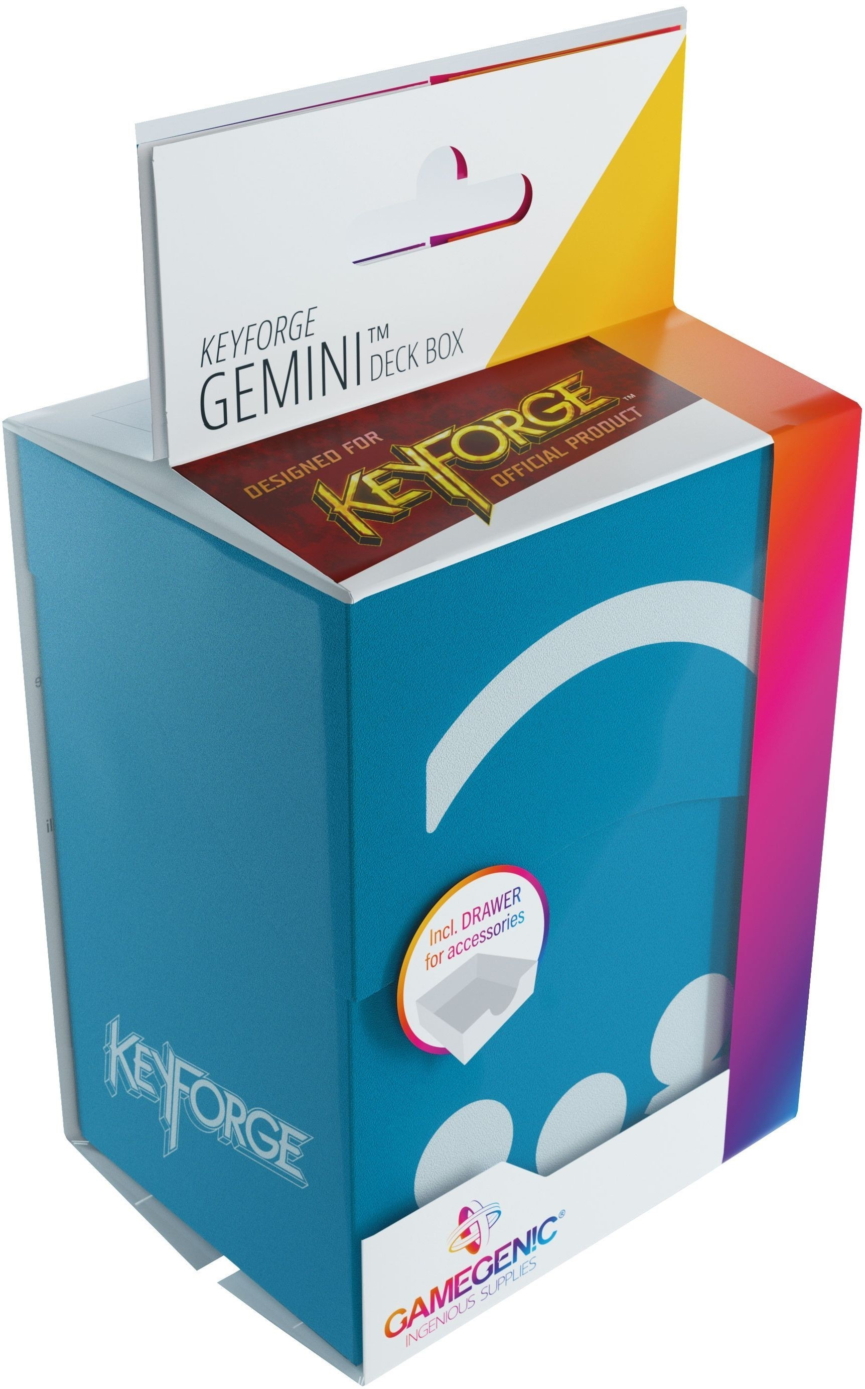 Gamegenic: KeyForge - Gemini Blue Deck Box