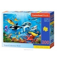 Puzzle 200 el. Tropical Underwater World