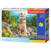 Puzzle 200 el. New Generation