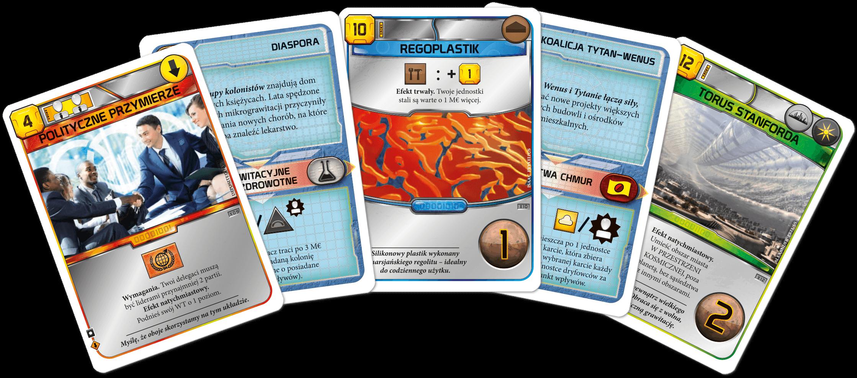 Terraformacja Marsa - Zestaw dodatkowy 4 (20 kart)