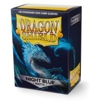 Dragon Shield Standard Sleeves - Matte Night Blue (100 Sleeves)
