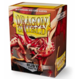 Dragon Shield Standard Sleeves - Matte Ruby (100 Sleeves)