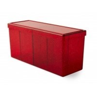 Dragon Shield - 4 Compartment Storage Box - Ruby