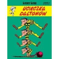Lucky Luke Ucieczka Daltonów Tom 15 Komiksy pełne humoru Egmont