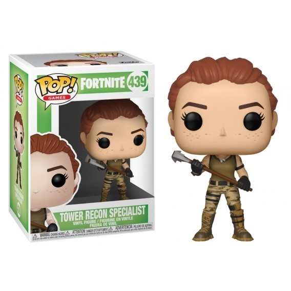 Funko POP Games: Fortnite - Tower Recon Specialist