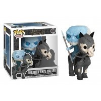 Figurka Funko POP TV Rides: Game of Thrones S10 - White Walker on Horse Funko - Gra o Tron Funko - POP!