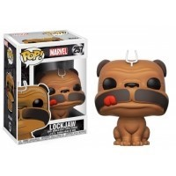 Figurka Funko POP Marvel Bobble: Lockjaw Funko - Marvel Funko - POP!