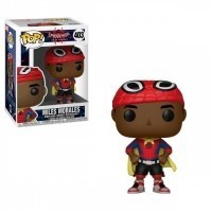 Funko POP Marvel Bobble: Spider-Man Animated - Miles w/ Cape