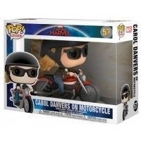 Figurka Funko POP Rides: Marvel Captain Marvel - Carol Danvers on Motorcycle Funko - Marvel Funko - POP!