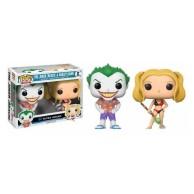 Funko POP DC 2 Pack: The Joker & Harley Quinn (Exc) (CC)