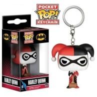 Funko Pop Keychain: DC - Harley Quinn