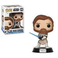 Funko POP Star Wars Bobble: Clone Wars - Obi Wan Kenobi