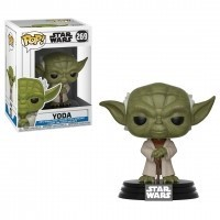 Funko POP Star Wars Bobble: Clone Wars - Yoda