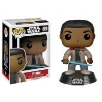 Funko POP Star Wars Bobble: E7 - Finn w/ Lightsaber (Exc)
