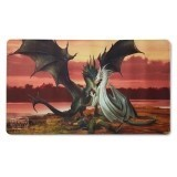 Dragon Shield Play Mat - Valentines Day Dragons