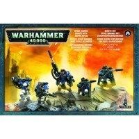 Warhammer 40000: Space Marines Scouts with Sniper Rifles