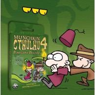Munchkin Cthulhu 4 - Pomylone Pieczary Munchkin Black Monk
