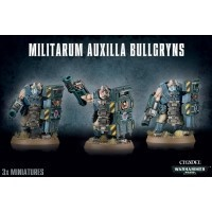 Warhammer 40000: MILITARUM AUXILLA BULLGRYNS Astra Militarum Games Workshop