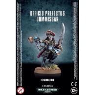 WARHAMMER 40000: Officio Prefectus Commissar Astra Militarum Games Workshop
