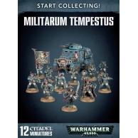 WARHAMMER 40000: START COLLECTING! MILITARUM TEMPESTUS Astra Militarum Games Workshop