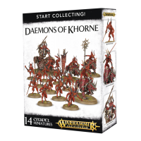 Warhammer: Start Collecting! Daemons of Khorne Daemons of Chaos Games Workshop
