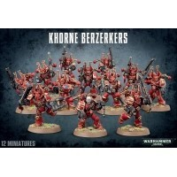 Warhammer 40000: Khorne Berzerkers Chaos Space Marines Games Workshop
