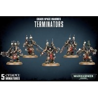 Warhammer 40000: Chaos Space Marines Terminators Chaos Space Marines Games Workshop