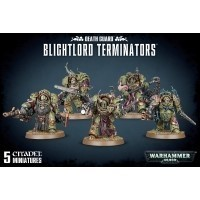 Warhammer 40000: Blightlord Terminators Death Guard Games Workshop