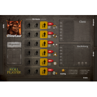 Roll Player: Minotaur Promo Punchboard
