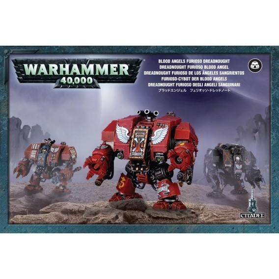 Warhammer 40000: Blood Angels Furioso Dreadnought