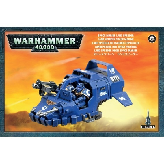 Warhammer 40000: Space Marine Land Speeder Space Marines Games Workshop
