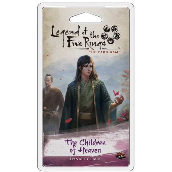 L5R LCG: The Children of Heaven Inheritance Cycle - Dynasty Packs Fantasy Flight Games