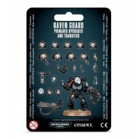 Warhammer 40000: Raven Guard Primaris Upgrades and Transfers Space Marines Games Workshop