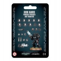 Warhammer 40000: Iron Hands Primaris Upgrades and Transfers Space Marines Games Workshop