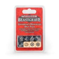 Warhammer Underworlds: Beastgrave – Grashrak's Despoilers Dice Pack Warhammer Underworlds Games Workshop