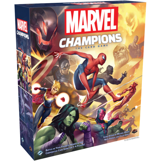 Marvel Champions: The Card Game Marvel Champions: The Card Game Fantasy Flight Games