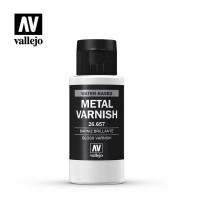 Vallejo 26657 Metal Varnish - BŁYSZCZĄCY - 60ml