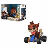 Figurka Funko Pop Rides: CTR - Crash Bandicoot Funko - Games Funko - POP!