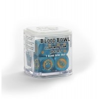 Blood Bowl Lizardmen Team Dice