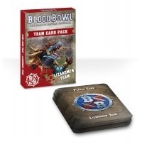 Blood Bowl: Team Card Pack: Lizardmen Team
