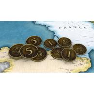 Struggle of Empires: Metalowe monety Monety Eagle Games