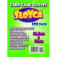 SLOYCA Koszulki Standard CCG (63,5x88mm) 100 szt. Sloyca Sloyca
