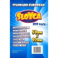 SLOYCA Koszulki Standard European (59x92mm) 100 szt. Sloyca Sloyca