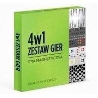 Gra magnetyczna - 4w1