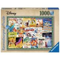 Puzzle 1000 el. Filmowe Plakaty Disneya